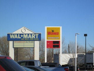 Photo by Ron LeirWawa and Walmart are now neighbors.