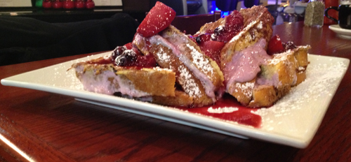 Berry Cream Cheese French Toast