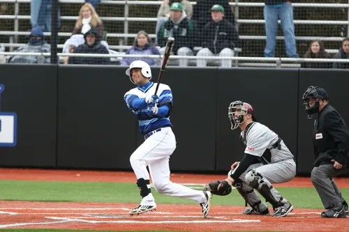 Photo courtesySeton Hall University athletic communications Nutley native and Seton Hall University shortstop Giuseppe Papaccio is enjoying a sensational senior season, leading the team in hitting and the Big East Conference in doubles.