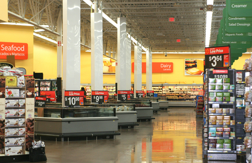 Groceries, fresh produce now at expanded Walmart \u2013 The Observer Online