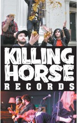 Photos courtesy www.killinghorserecords.com The bands Cicada Radio (top) and Secret Country (bottom), both of Kearny are just two of the groups under the Killing Horse Records label.