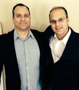 Joe (l.) and Kevin DeBlasi.