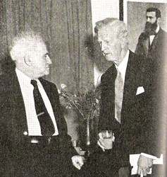 Wikipedia James McDonald, as the Special Representative of the United States to Israel, meets with Israeli Prime Minister David Ben-Gurion in 1948.