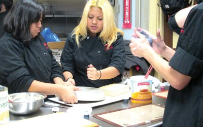 Photos by Ron Leir KHS culinary arts students hard at work