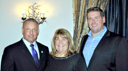 Photo courtesy Allison Sheedy GOP Borough Council victors, from l., are Brian Fitzhenry, Allison Sheedy and Marijo Karcic Jr.