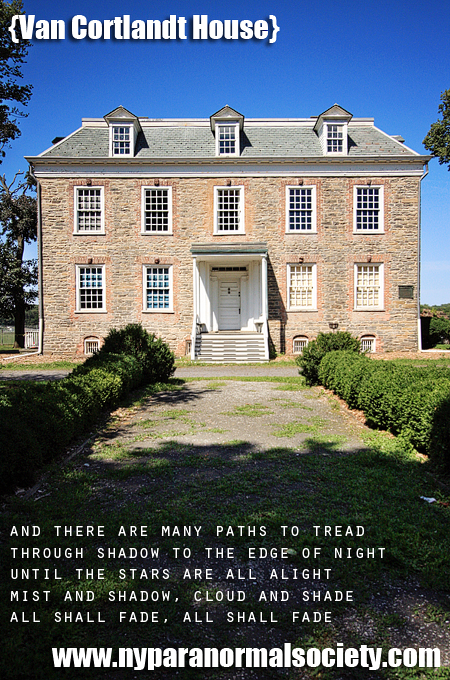 The Van Cortlandt House, Bronx, NYC, said to be haunted