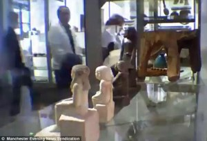 Ancient Egyptian statue appears to move by itself in Manchester Museum