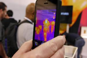 FLIR is releasing a smartphone case that will turn the iPhone into a thermal imaging camera