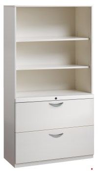 The Office Leader. 2 Drawer Trace Lateral File Cabinet, 30 ...