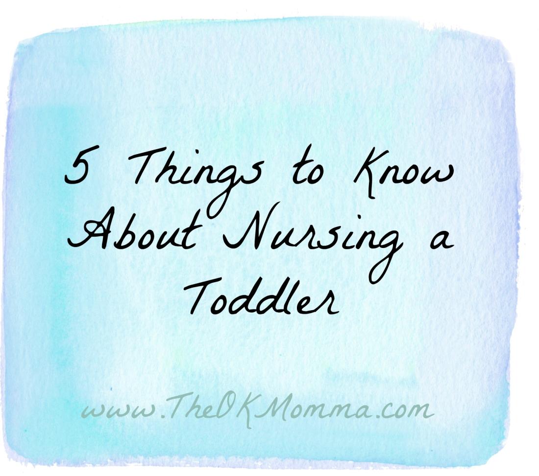 5 Reasons I Deserve a Medal for Nursing My Toddler
