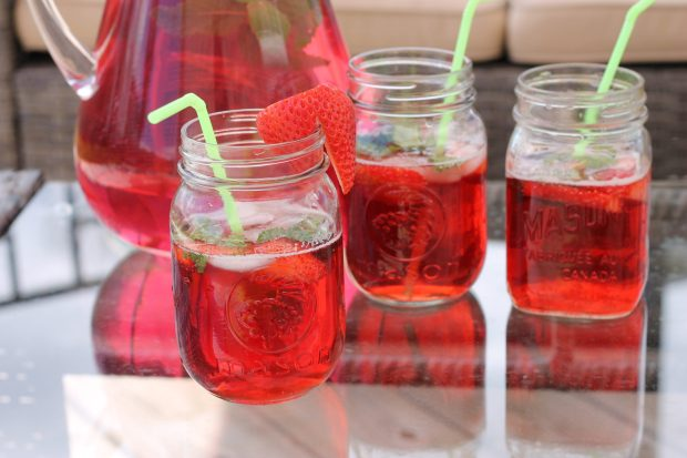 Strawberry Mint Bliss – A Delicious Summer Drink