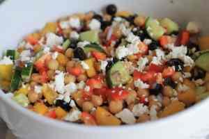 Chickpea-Salad
