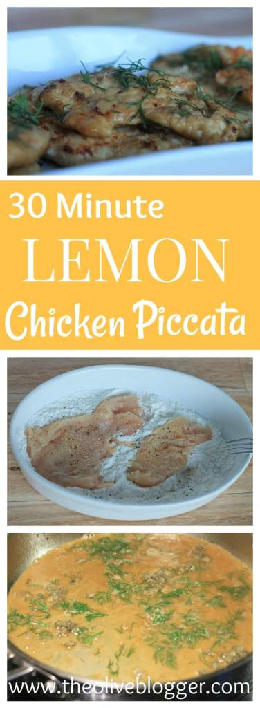Easy weeknight dinner, ready in 30 minutes, this Lemon Chicken Piccata is simple to make and loaded with flavor!