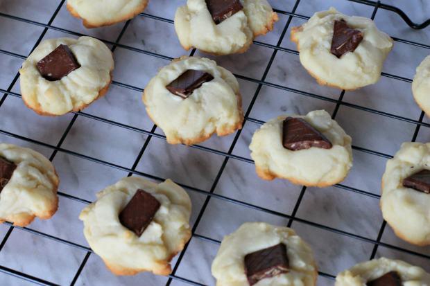 Chocolate Orange Shortbread Cookie