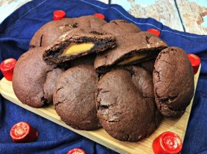 Rolo-Filled-Chocolate-Cookies