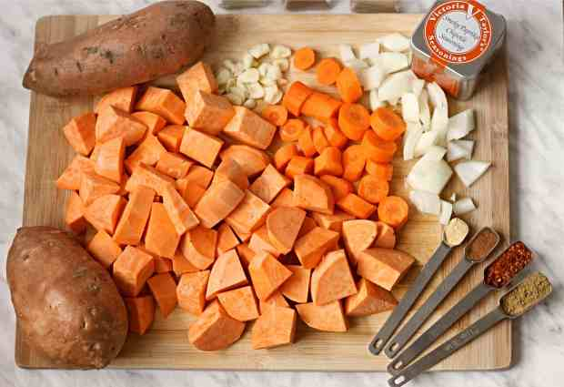 Pressure Cooker Sweet Potato Soup