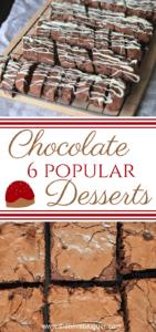 Popular Chocolate Desserts
