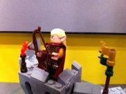 Legolas in the Battle of Helm's Deep LEGO Set