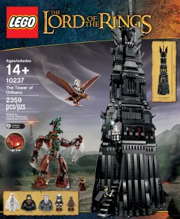 LEGO Tower of Orthanc