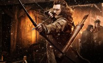 Bard the Bowman as played by Luke Evans.