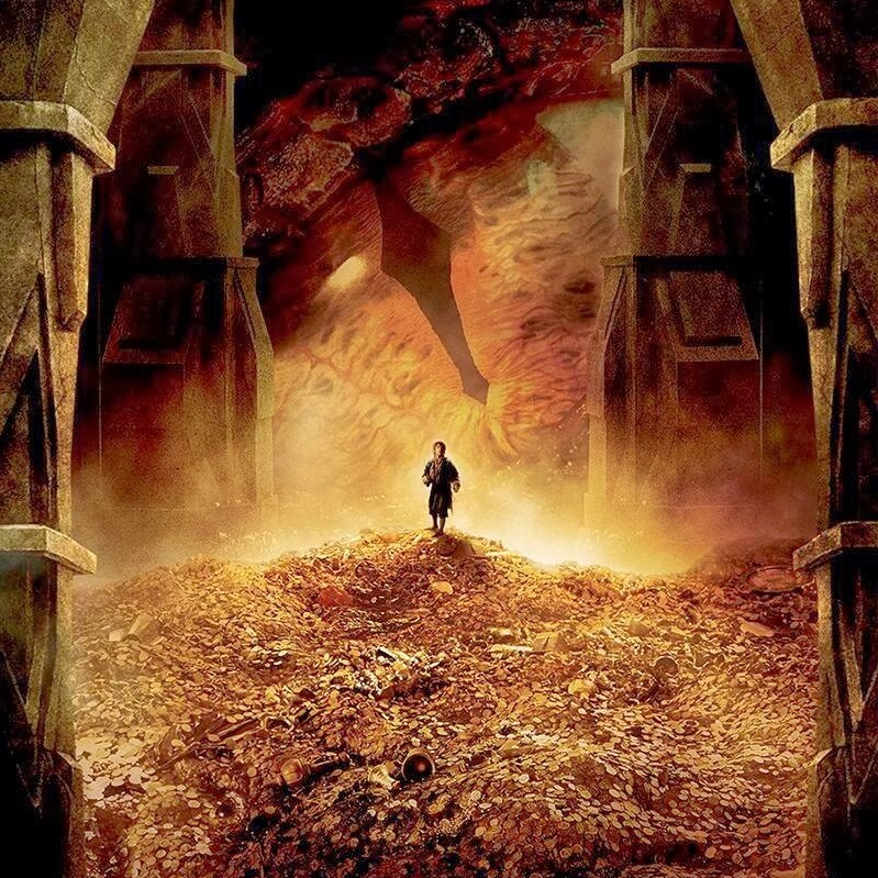 Poets Of The Fall Wallpaper Melting Gold In The Hobbit The Desolation Of Smaug