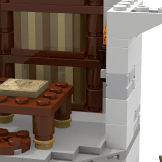 Minas Tirith update library tower back library close up front