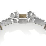 Minas Tirith update wall top