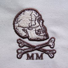 Memento Mori Embroidery Design