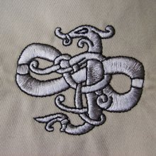 Urnes Style Beast Embroidery Design