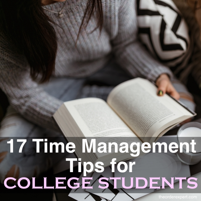 Time Management Tips for College Students The Order Expert