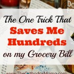 Save Serious Money with Menu Planning