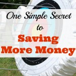One Simple Secret to Saving More Money