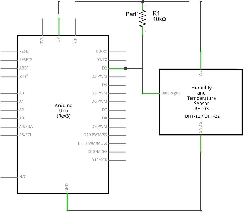 Humidity Sensor with Arduino - theoryCIRCUIT - Do It Yourself