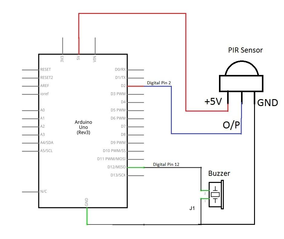 Pir Circuit Diagram Wiring Diagram