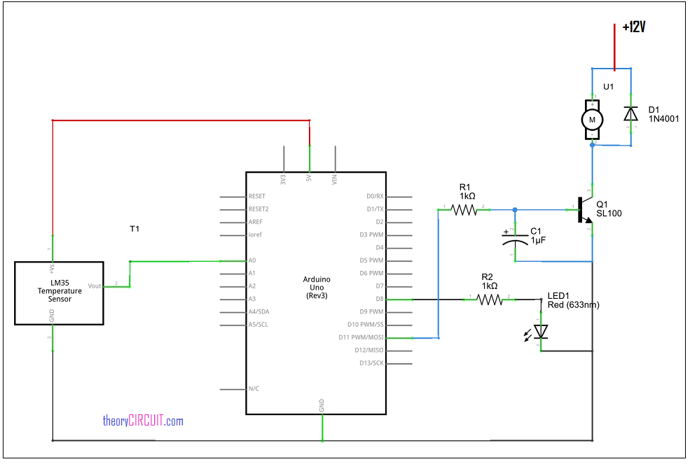 4 pin pwm fan circuit diagram