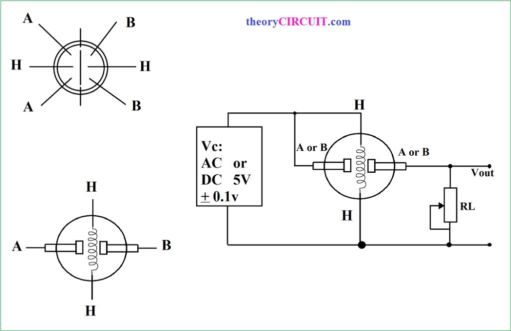 mq7 gas sensor circuit diagram