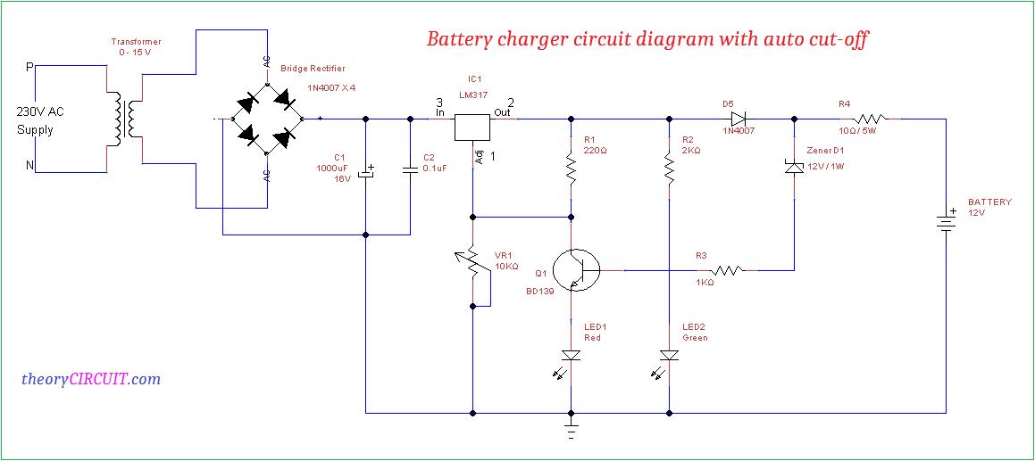 circuit diagram power supply