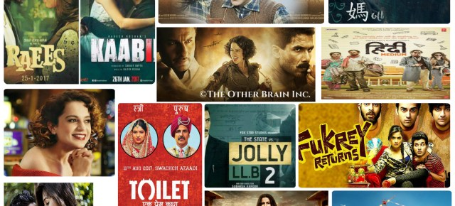 Bollywood's Films 2017 - TheOtherBrainInc