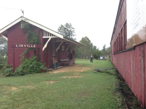 Linville Train Station