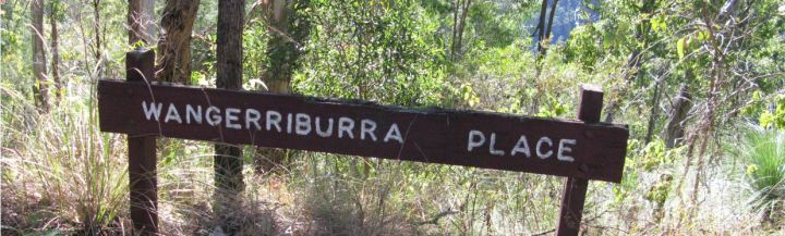 Duck Creek Rd has a name on nearly every bend.  Wangerriburra Place