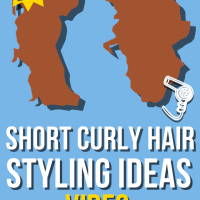 20+ Ways to Style Short Curly Hair | How-To Video