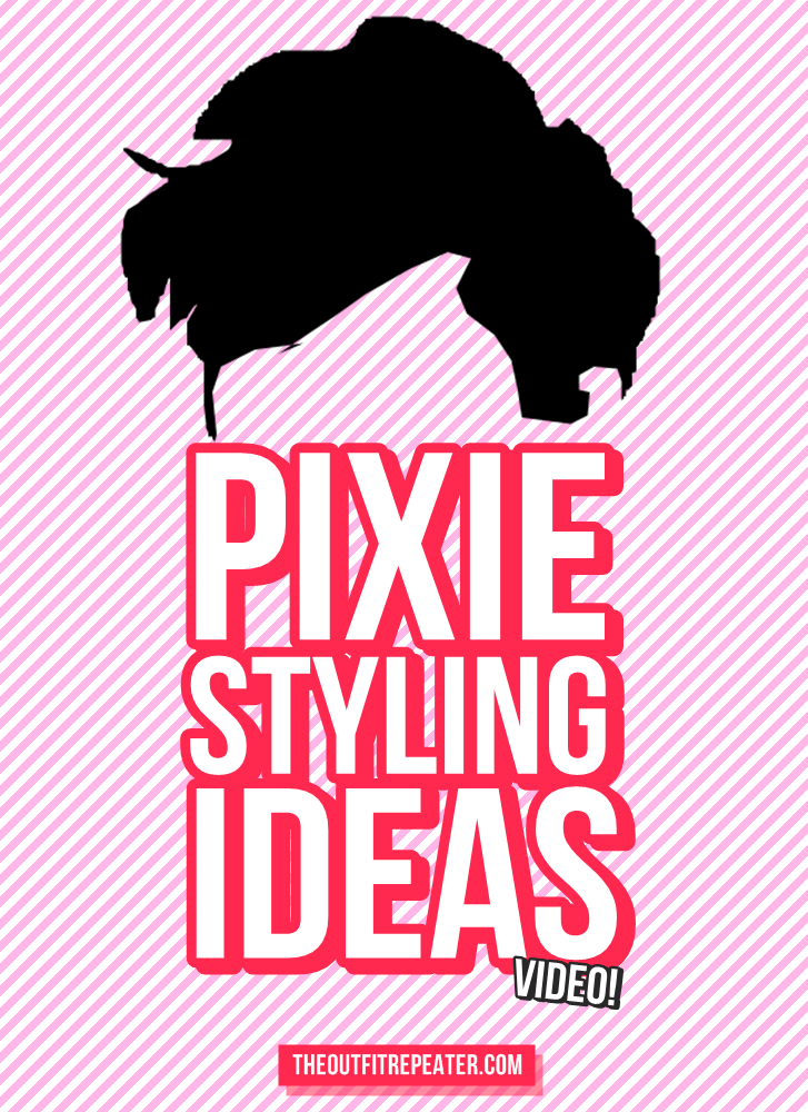 Ideas for Styling a Pixie Cut w/ No Sides | Video Tutorial