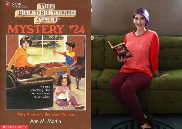 Mary Anne Spier of The Babysitters Club outfit recreation
