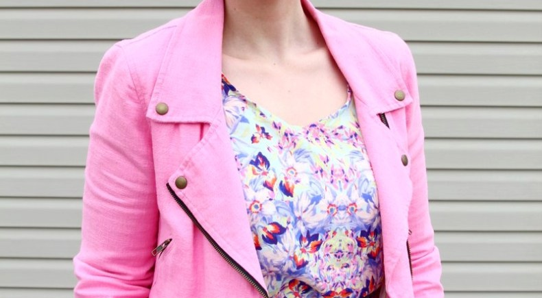 pink-jacket-floral-peplum-teal-purple-outfit-05
