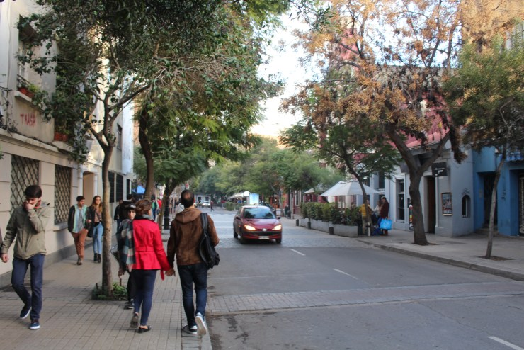 The Streets Of Barra Lastarria