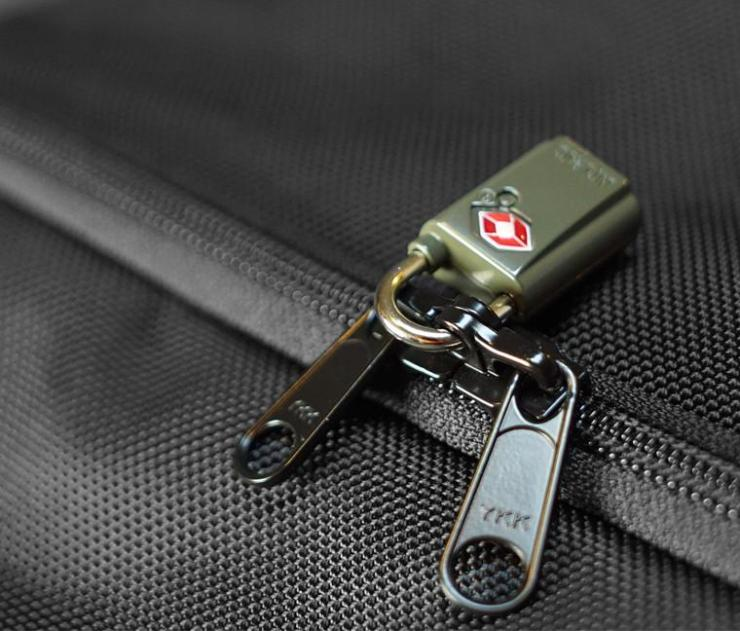 "An example of ""Lockable Zippers"""