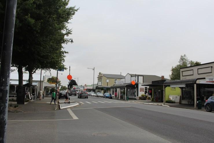 Walking the streets of Greytown, Wairarapa