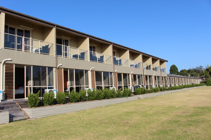 Our digs in Waitangi - The Copthorne Resort, Bay of Islands