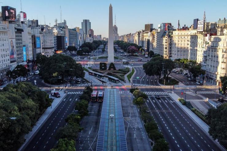 Buenos Aires under Quarantine, March 2020