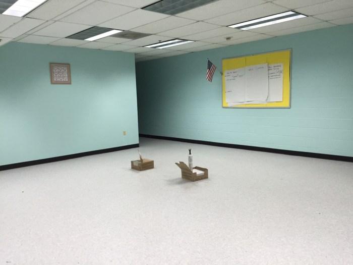 Bonnie's Windowless Classroom Progress Report - The Outside & In